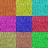 texture de tricotage multicolore de laine pour le modèle et le fond Photo libre de droits