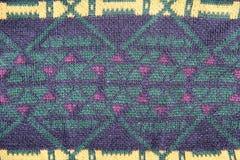Texture de tricots Image libre de droits