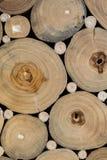Texture de tronçon d'arbre Images libres de droits