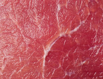 Texture de viande crue Photos libres de droits