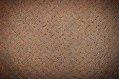 Texture de vieille plaque en acier Photographie stock