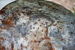 Texture de vieux feuillard rouillé attentivement Fond images libres de droits