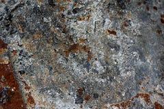 Texture de vieux feuillard rouillé attentivement Fond photographie stock libre de droits