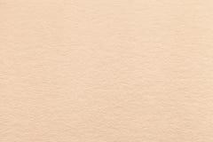 Texture de vieux fond de papier beige clair, plan rapproché Structure de carton dense de sable Photos libres de droits