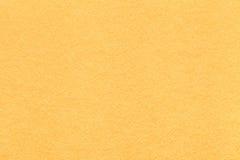 Texture de vieux fond de papier jaune-clair, plan rapproché Structure de carton dense de citron Photos libres de droits