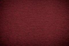 Texture de vieux fond de papier rouge foncé, plan rapproché Structure de carton marron dense Image stock