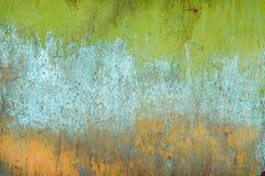 Texture de vieux fond minable rouillé avec des éraflures image stock