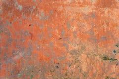 texture de vieux fond minable rouillé rouge avec des éraflures photo libre de droits