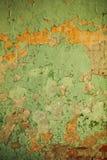 Texture de vieux mur en béton peint photos libres de droits