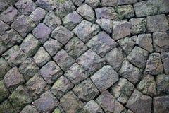 Texture de vieux mur de roche photos stock