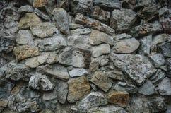 Texture de vieux mur de roche pour le fond Image stock