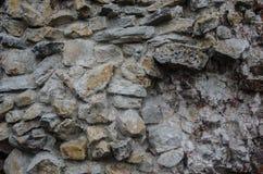 Texture de vieux mur de roche pour le fond image libre de droits