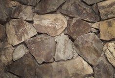Texture de vieux mur de roche pour le fond Photographie stock
