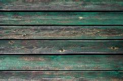 Texture de vieux, peint bois vert image libre de droits