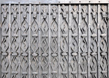Texture de vintage avec les éléments décoratifs de fer Photo libre de droits