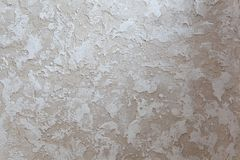 Texture of decorative wall covering - Old Castle - handmade plaster Stock Photography