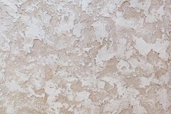 Texture of decorative wall covering - Old Castle - handmade plaster Stock Photos