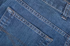 Texture of denim Royalty Free Stock Photography