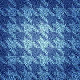 Texture of denim fabric Royalty Free Stock Images