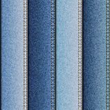 Texture of denim fabric Royalty Free Stock Photography