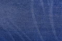 Texture of denim fabric. Place to place your text Royalty Free Stock Photos