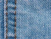 Texture of denim jeans close up Stock Photos