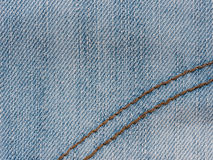Texture of denim jeans close up Royalty Free Stock Photography