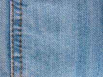 Texture of denim jeans close up Stock Photo
