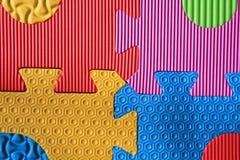 Texture denteuse colorée de mousse Image libre de droits
