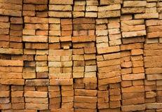 Texture Depok rentré par photo Indonésie de briques rouges images libres de droits