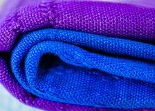 Texture des écharpes photographie stock
