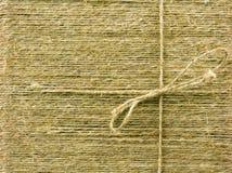Texture des amorçages de lin textile Image libre de droits