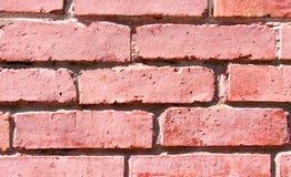 Texture des briques rouges comme fin de fond  Image stock