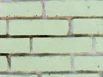 Texture des briques vertes comme fin de fond  Photo libre de droits