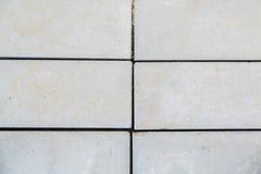 Texture des dalles en béton de plancher Photographie stock libre de droits