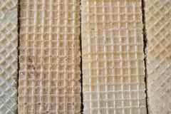 Texture des gaufrettes Images libres de droits