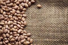 Texture des haricots Photographie stock