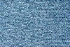 Texture des jeans bleu-clair Photos libres de droits