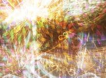 Texture des lumières lumineuses Images libres de droits