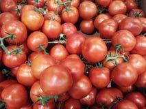 Texture des tomates dehors Photos stock