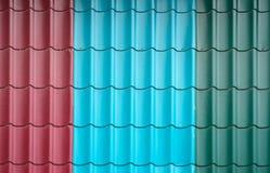 Texture des tuiles colorées Photos libres de droits
