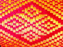 Texture design. Textured on Thai clothing Stock Photography