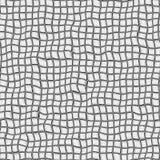 Texture déformée croisée Photos libres de droits