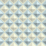 Texture diamond plate seamless. Metal or plastic material. Corrugated steel rhombic and lentil form sheets Royalty Free Stock Images