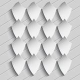 The texture of the diamond-shaped graphic elements. Gray texture of the graphic elements in the form of a rhombus Royalty Free Illustration
