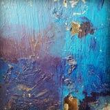 Texture. Different blue paints Stock Images