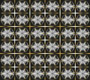 Texture from different geometrical figures Stock Photos