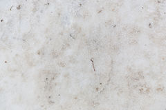 Texture dirt snow covered ground close up Stock Photography