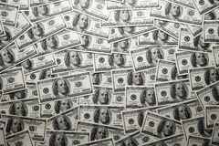 Texture of dollar banknotes Stock Photo