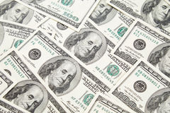 Texture of dollar banknotes Royalty Free Stock Photography